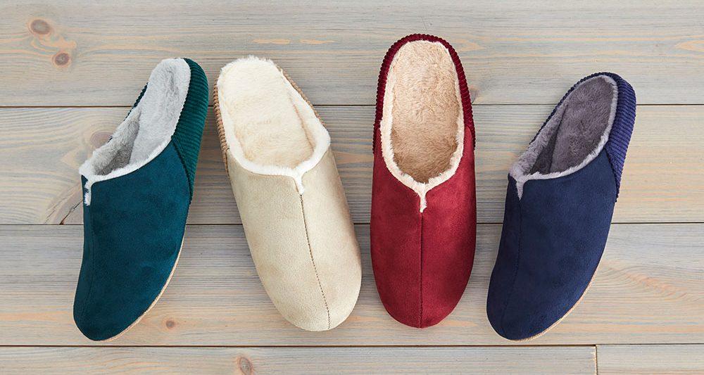 寒い日の足元に、極上の履き心地を。room's moco / by フロンティア