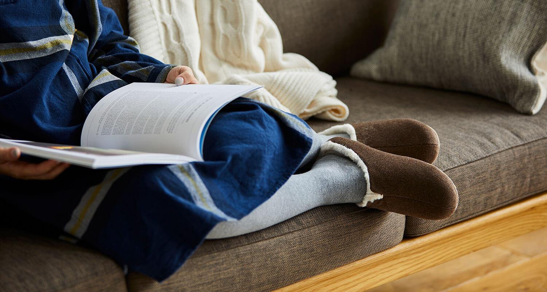 ふんわりと暖かく、足元にくつろぎを。room's sheep / by フロンティア