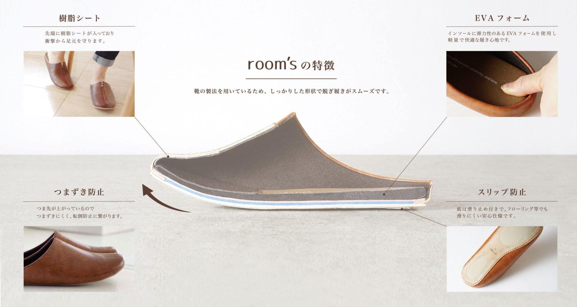 room'sの特徴